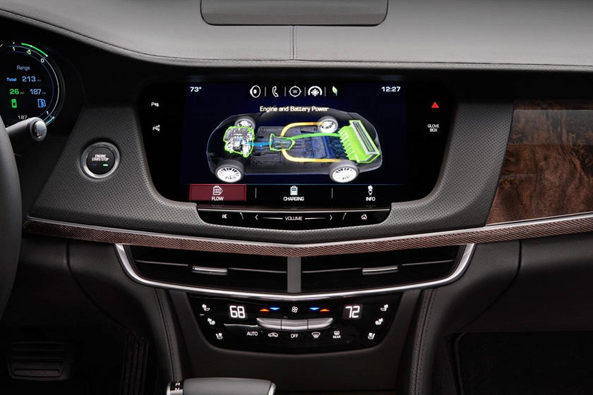 2017 Cadillac CT6 PLUG-IN Sedan Center Console