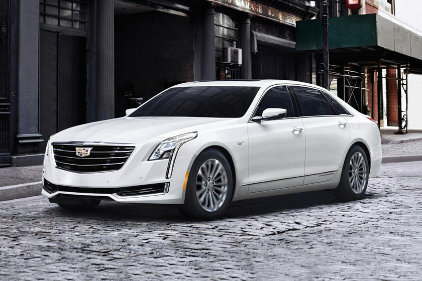 2017 Cadillac CT6 PLUG-IN Sedan Exterior