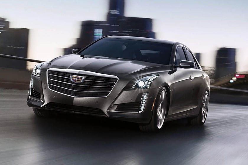 2017 Cadillac CTS V-Sport Premium Luxury Sedan Exterior Shown