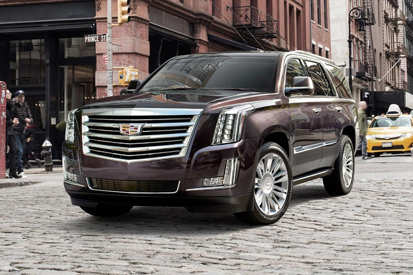 2018 Cadillac Escalade Suv Review Trims Specs And Price Carbuzz