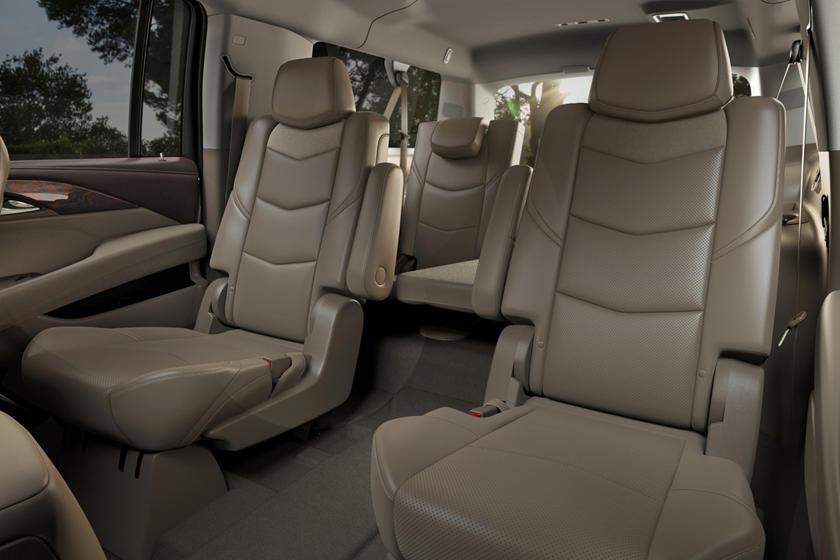 2017 Cadillac Escalade ESV Platinum 4dr SUV Rear Interior Shown