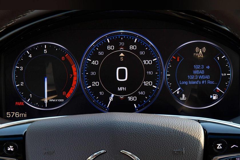 2017 Cadillac XTS Premium Luxury V-Sport Sedan Gauge Cluster