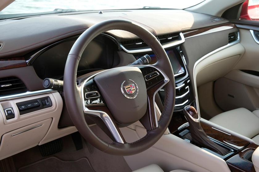 2017 Cadillac XTS Premium Luxury V-Sport Sedan Interior