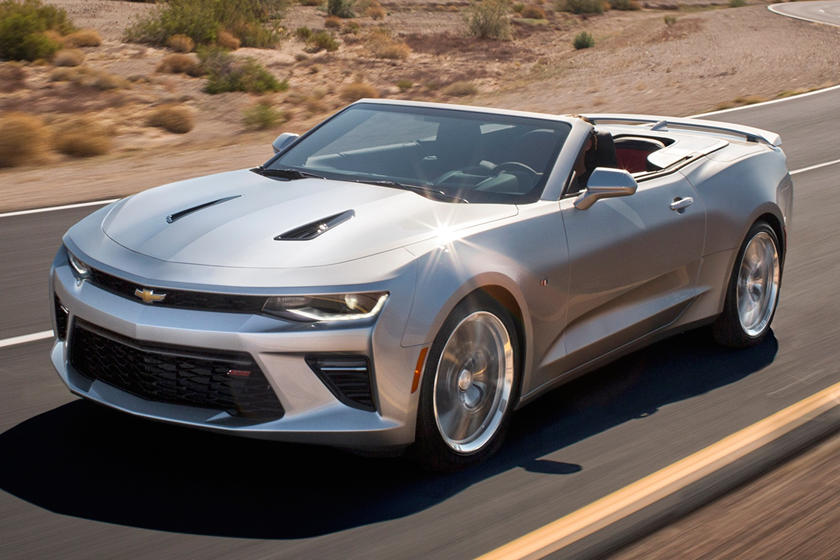 2017 Chevrolet Camaro SS w/2SS Convertible Exterior Shown