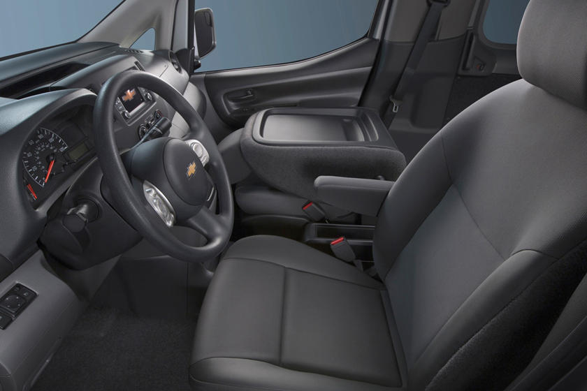 2017 Chevrolet City Express LT Cargo Minivan Interior Shown
