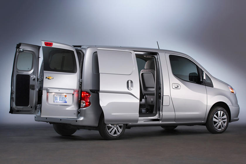 2017 Chevrolet City Express LT Cargo Minivan Exterior. Options Shown.