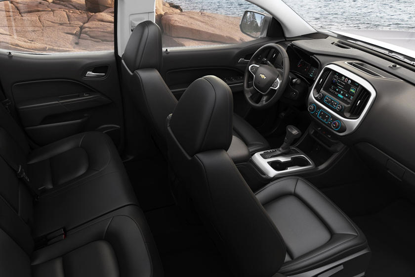 2017 Chevrolet Colorado LT Extended Cab Pickup Interior