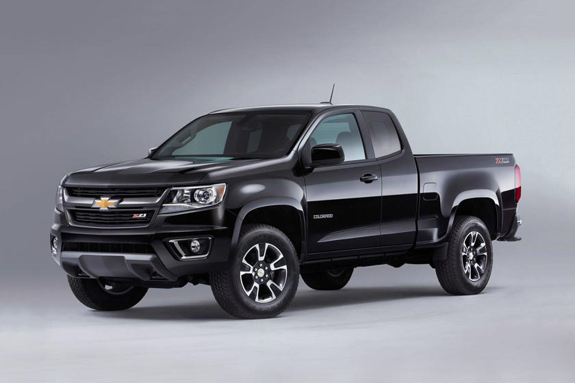 2017 Chevrolet Colorado Z71 Extended Cab Pickup Exterior Shown