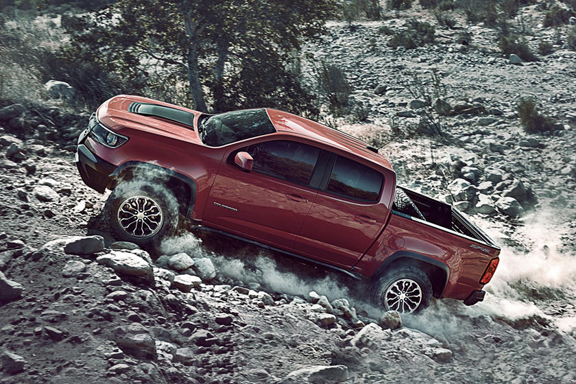 2017 Chevrolet Colorado ZR2 Crew Cab Pickup Profile