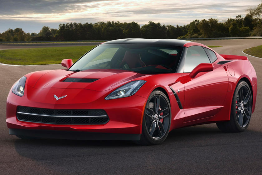 2017 Chevrolet Corvette Stingray Z51 w/3LT Exterior Shown