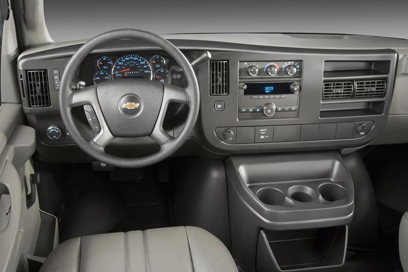 2017 Chevrolet Express Cargo 2500 Cargo Van Interior