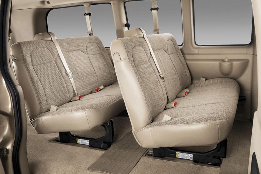 2017 Chevrolet Express LT 3500 Passenger Van Interior Shown