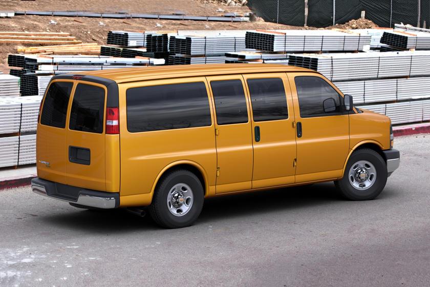 2017 Chevrolet Express LT 3500 Passenger Van Exterior Shown