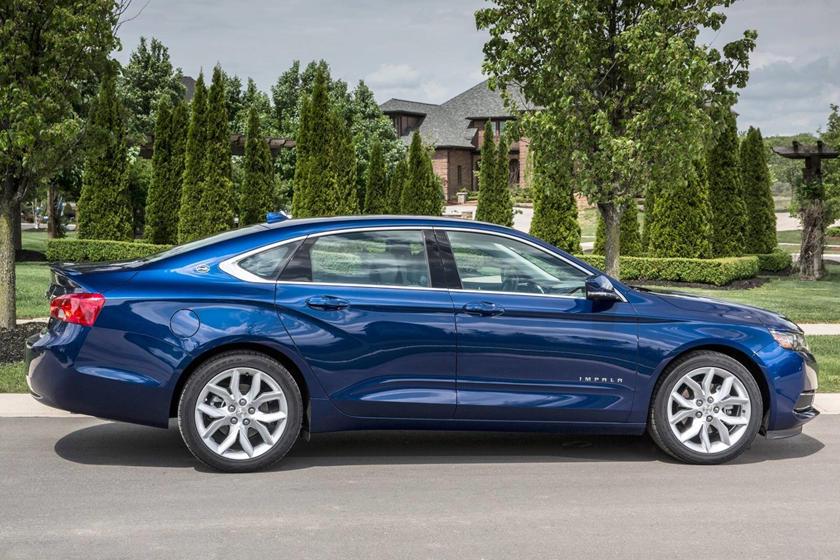 2017 Chevrolet Impala LT Sedan Exterior