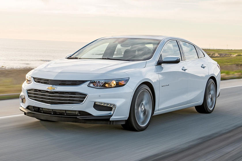 2017 Chevrolet Malibu Premier Sedan Exterior Shown