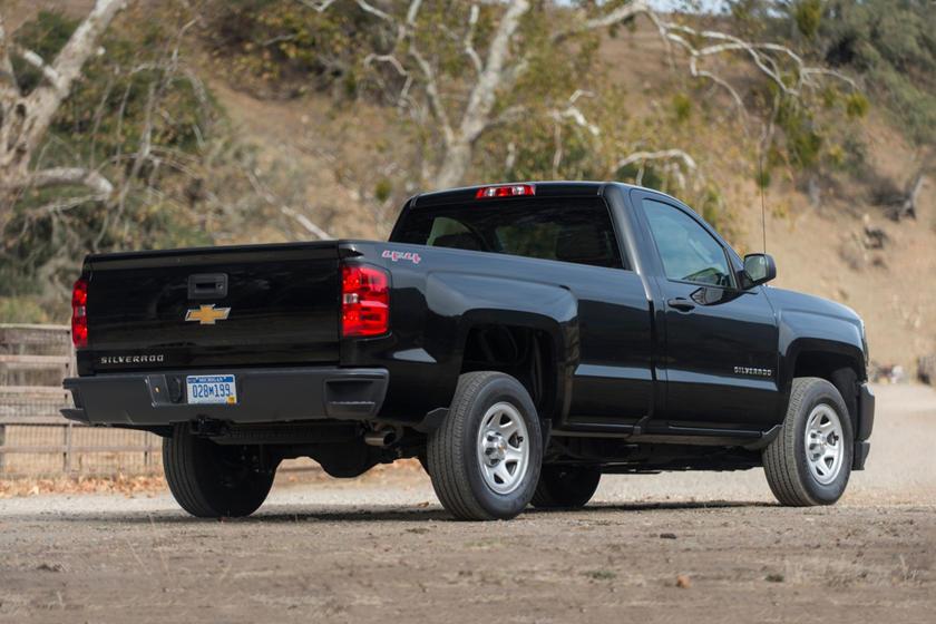 2017 Chevrolet Silverado 1500 Work Truck Regular Cab Pickup Exterior