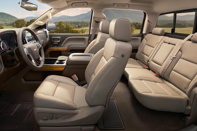 2017 Chevrolet Silverado 3500HD LTZ Crew Cab Pickup Interior
