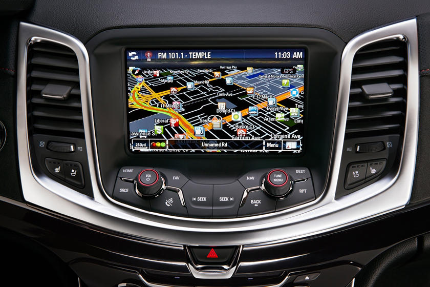 2017 Chevrolet SS Sedan Navigation System