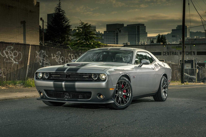 2015-2018 Dodge Challenger SRT 392 Front Three-Quarter Left Side View