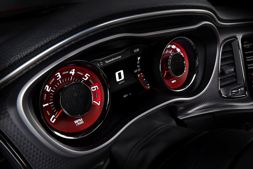 2017 Dodge Challenger SRT 392 Coupe Gauge Cluster