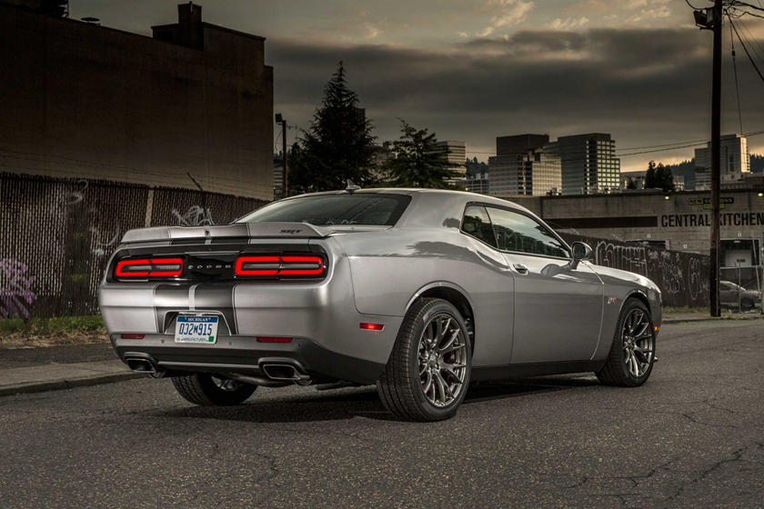 2015-2018 Dodge Challenger SRT 392 Rear Three-Quarter Right Side View