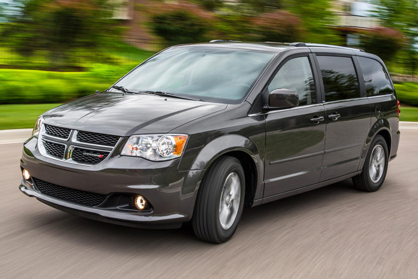 2017 Dodge Grand Caravan SXT Passenger Minivan Exterior Shown