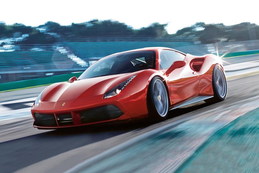 2016 Ferrari 488 GTB CoupeExterior