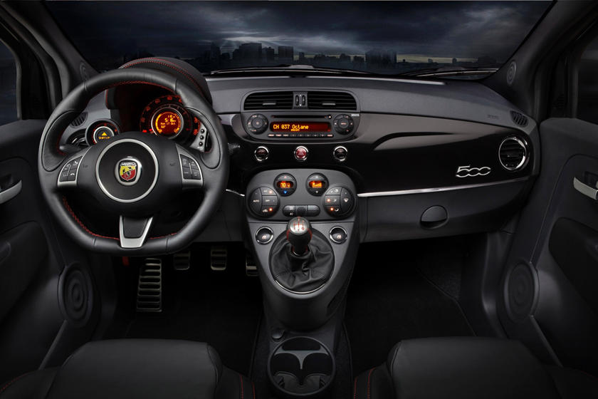 2017 FIAT 500 Abarth 2dr Hatchback Interior Shown