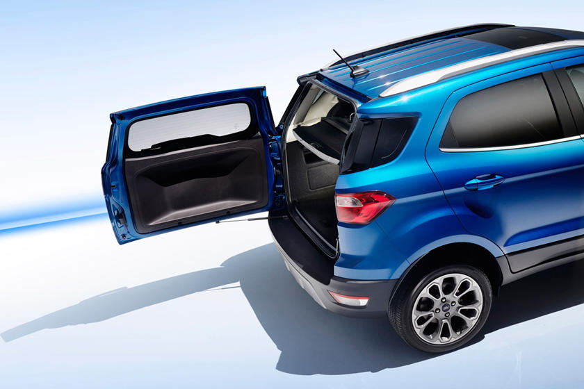 2018 Ford EcoSport Titanium 4dr SUV Cargo Area Shown