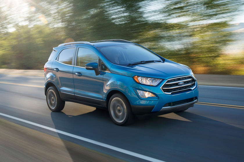 2018 Ford EcoSport Front Side in Motion