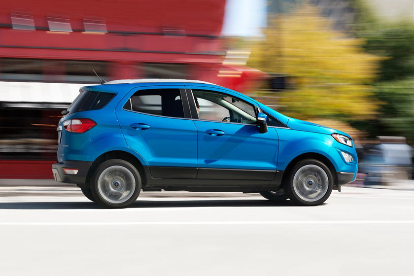2018 Ford EcoSport Titanium 4dr SUV Profile Shown