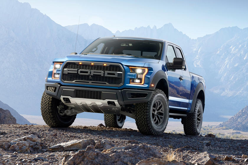 Ford F  Raptor Extended Cab Pickup Exterior Shown