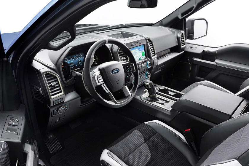 2017 Ford F-150 Raptor Extended Cab Pickup Interior