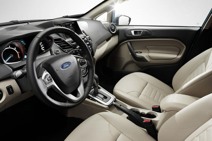 2017 Ford Fiesta Titanium 4dr Hatchback Interior Shown