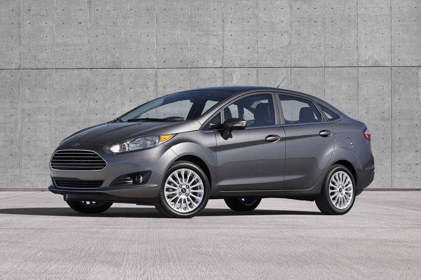 2017 Ford Fiesta Titanium Sedan Exterior Shown