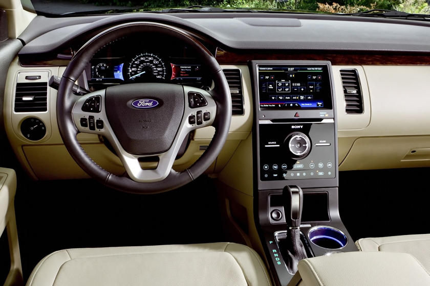 2017 Ford Flex Limited Wagon Interior