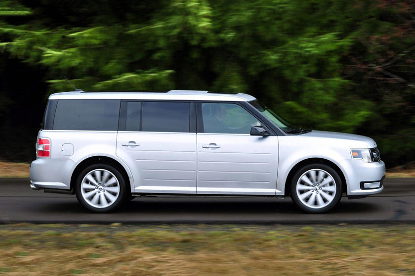 2017 Ford Flex SEL Wagon Exterior. Options Shown.