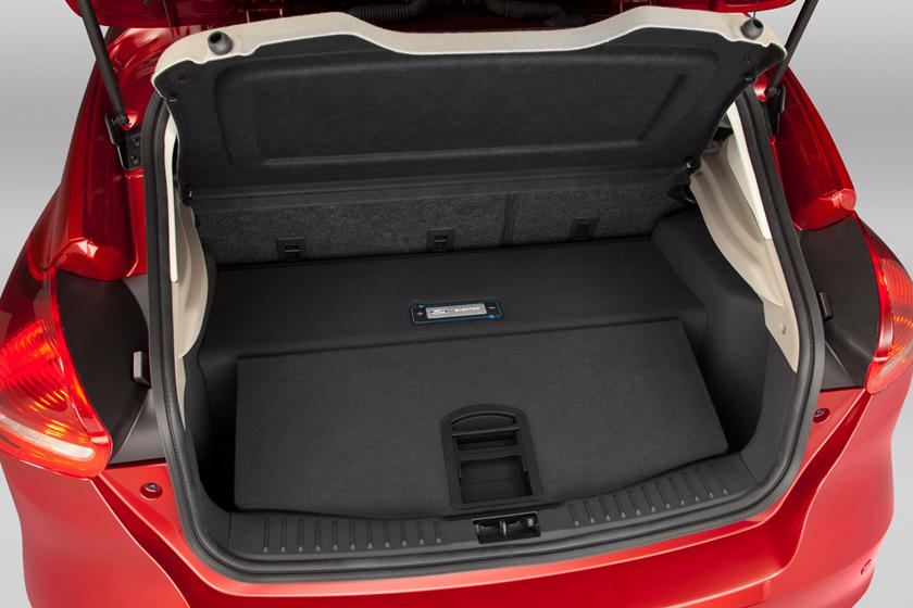 Ford Focus Electric 4dr Hatchback Cargo Area