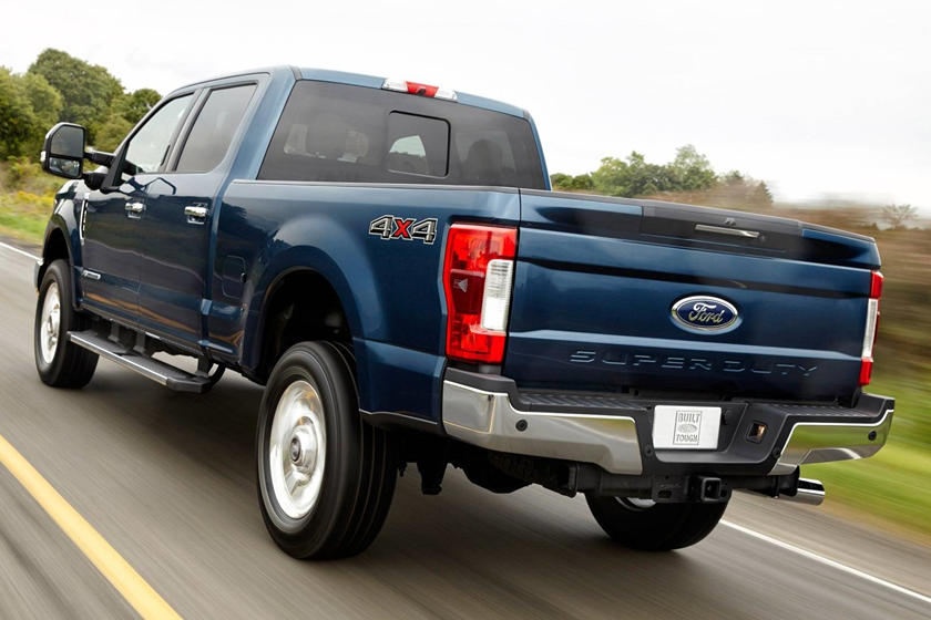 2017 Ford F-250 Super Duty Lariat Crew Cab Pickup Exterior. Options Shown.