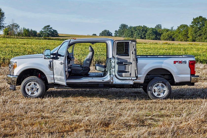 2017 Ford F-250 Super Duty XL Extended Cab Pickup Exterior. Options Shown.