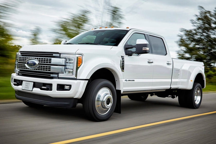 2017 Ford F-450 Super Duty Platinum Crew Cab Pickup Exterior Shown