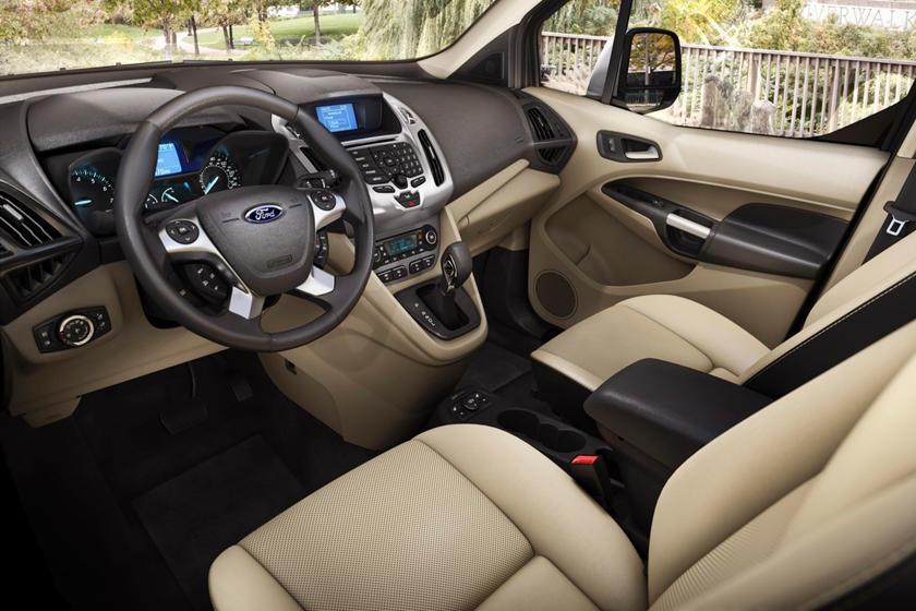 2017 Ford Transit Connect Wagon Titanium LWB Passenger Minivan Interior