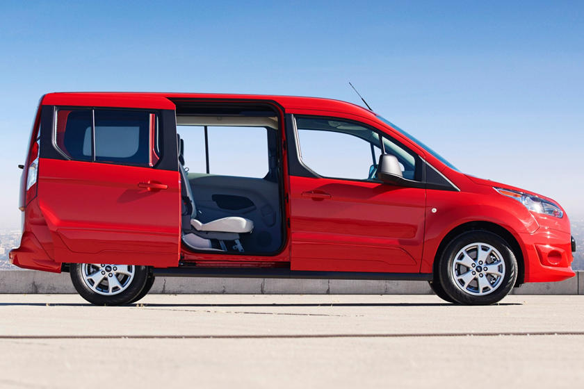 2017 Ford Transit Connect Wagon XLT w/Rear Liftgate LWB Passenger Minivan Exterior Shown
