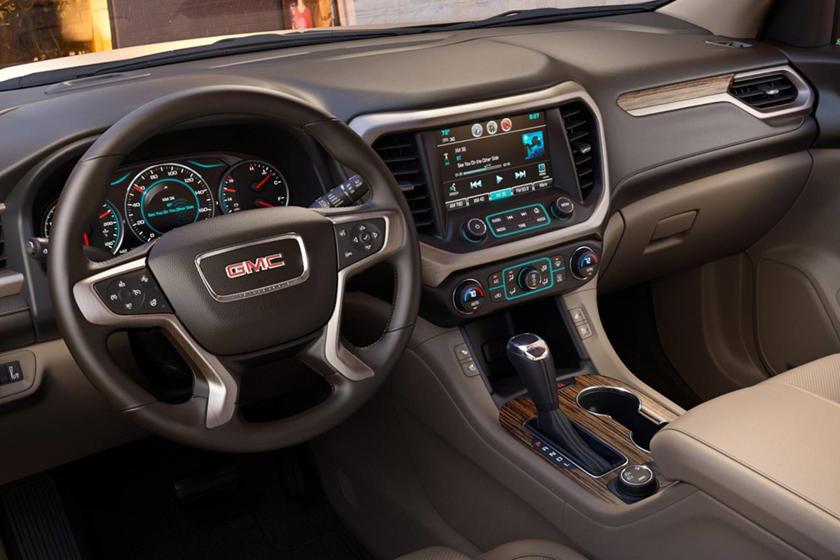 2018 GMC Acadia Denali 4dr SUV Interior