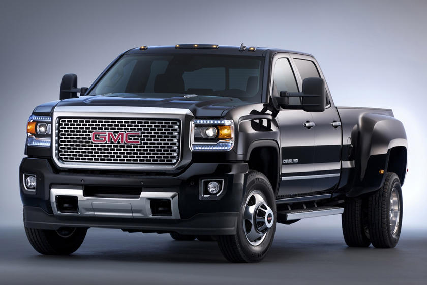 2018 Gmc Sierra 3500hd Review Trims Specs And Price Carbuzz