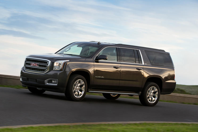 GMC Yukon XL SLT 4dr SUV Exterior Shown