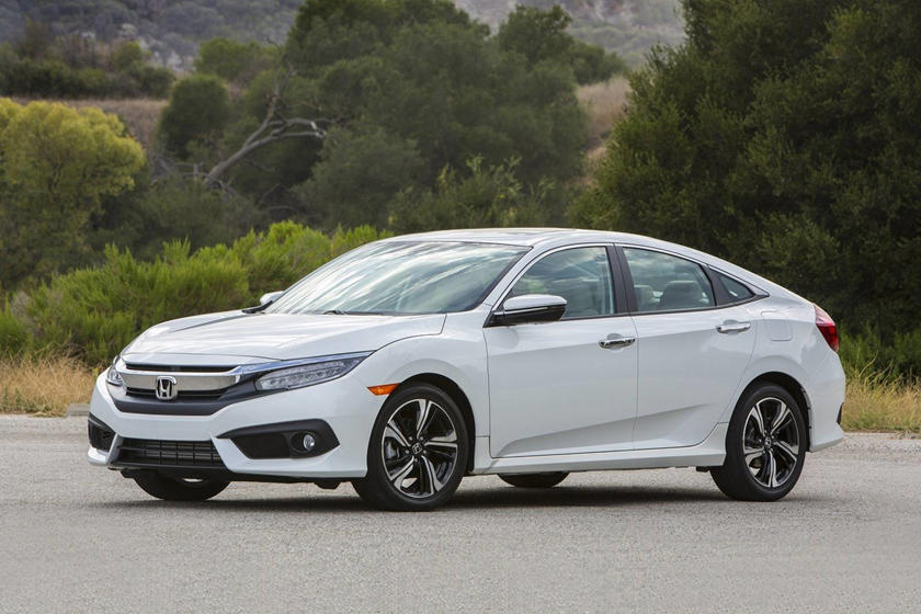 2017 Honda Civic Touring Sedan Exterior Shown