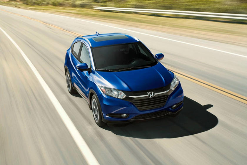 2018 Honda HR-V EX-L w/Navigation 4dr SUV Exterior Shown
