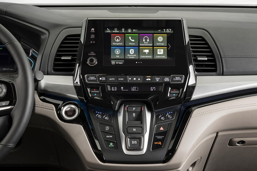 2018 Honda Odyssey Elite Passenger Minivan Center Console