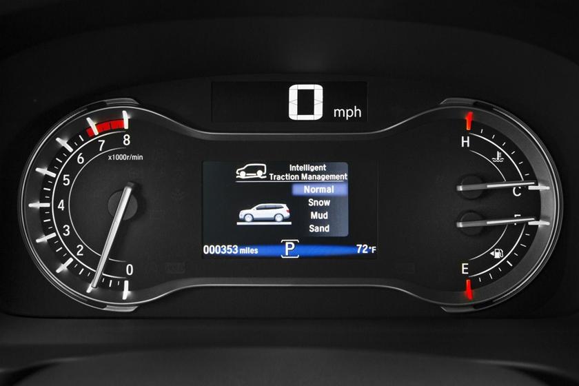 2017 Honda Pilot Elite w/Navigation and Rear Entertainment System 4dr SUV Gauge Cluster